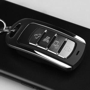 Image 4 - Kebidu 433MHZ otomatik çift kopya uzaktan teksir 4 düğmeler garaj kapısı kapı uzaktan kumanda öğrenme kopyalama anahtarlık ile