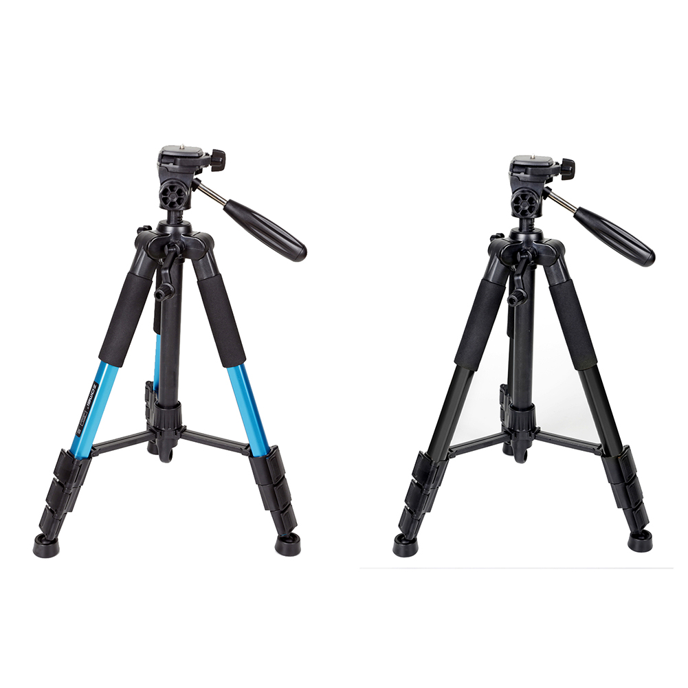 Professional Portable Travel Aluminum Camera Tripod Stand Extendable Camera Stabilizer Tripods with Flat Head Professional Portable Travel Aluminum Camera Tripod Stand Extendable Camera Stabilizer Tripods with Flat Head