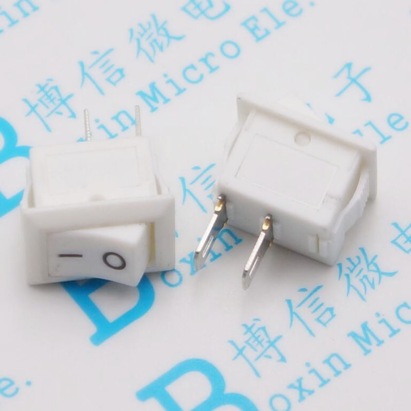 10 * 15 second ship type switch mini white 2 feet Small square power ...