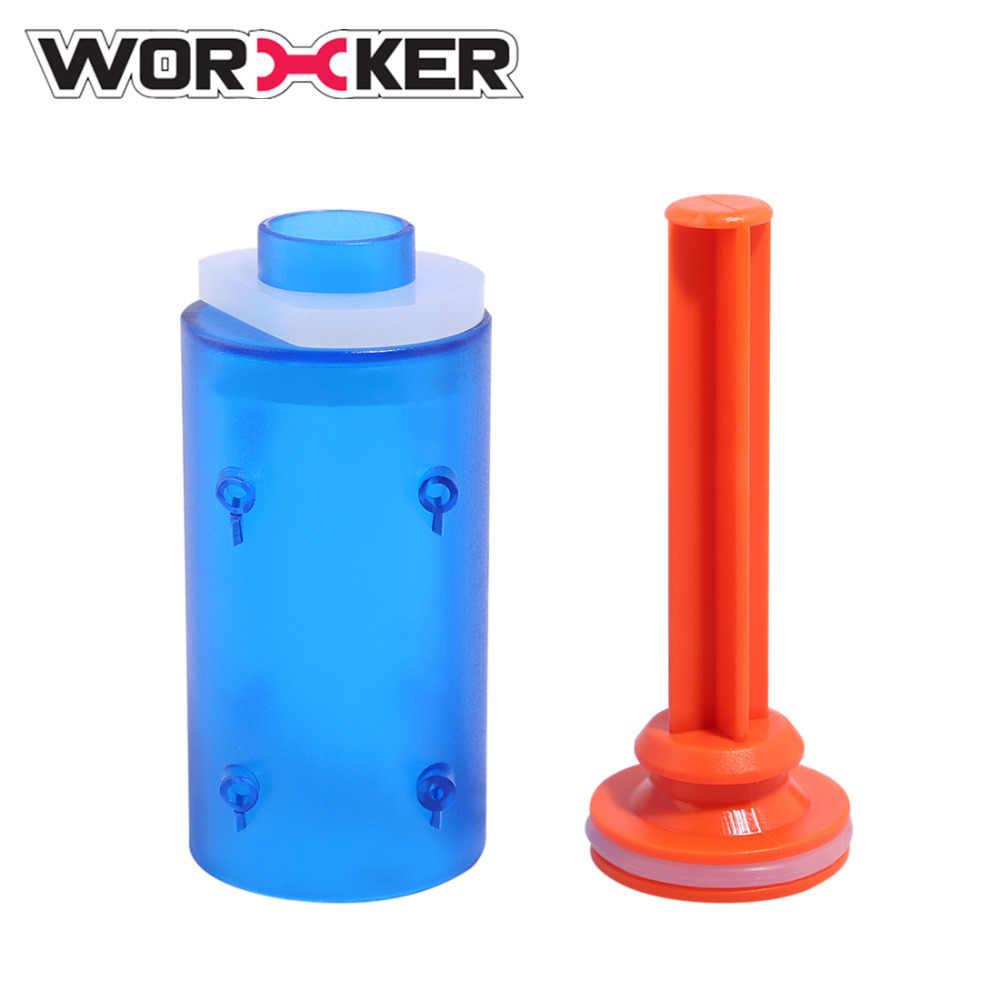 Werknemer Retaliator Type-EEN Pomp voor Werknemer Retaliator Shell Set Professionele Speelgoed Accessoires-Transparant Blauw