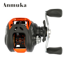 купить 10+1BB Left Right Hand Baitcasting Fishing Reel 6.3:1 Bait Casting Fishing Wheel With Magnetic Brake Carp Carretilha Pesca дешево