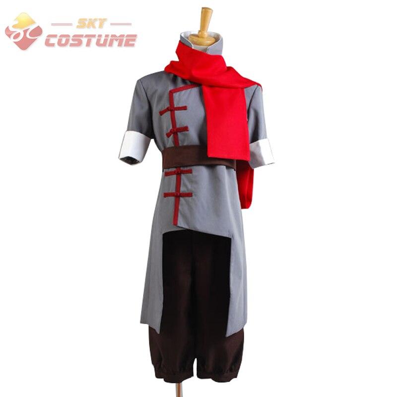 Avatar The Legend of Korra Mako Cosplay Costume Grey Version For Boy Male Halloween Carnival Full Set