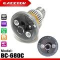 Eazzydv bc-680c bombilla cctv de la seguridad casera dvr cámara con almacenamiento circular motion night vision detección apoyo max 32g tf tarjeta