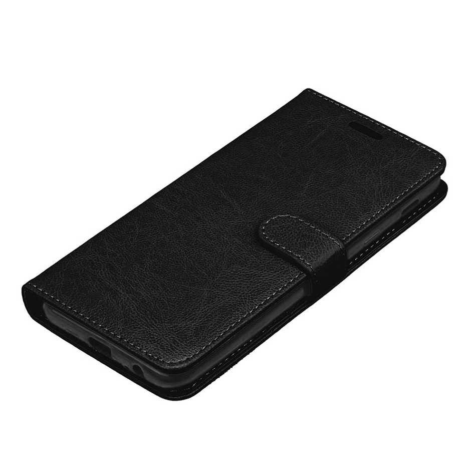 Voor Samsung J2 2018 Case Leer Voor Coque Galaxy J7 Core Neo J1 Mini Ace J7 Perx J727 J8 Cover portemonnee Filp Gevallen Met Card Slot
