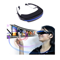 COOL 52 4 3 Virtual Wide Screen Video Glasses Eyewear Mobile Private Theater Digital With Card