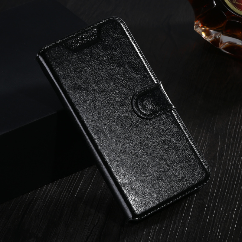 Wallet Leather Case Fundas for Micromax Q414 Q 414 Flip Cover Coque Pho
