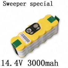 GTK 14,4 V NIMH 3000 mAh аккумулятор 14,4 v nimh для робота пылесос для уборки замена