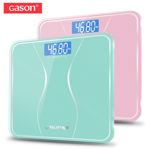 GASON A2s Bathroom Body Scale Glass Smart Household Electronic Digital Floor Weight Balance Bariatric LCD Display