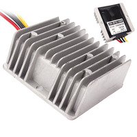 Car Power Converter DC 48V To 12V 10A 120W Chip overheating protection