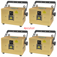4 pieces/Lot 2W/3W Professional RGB Stage Dj Laser for Laser Pointer Show Diode Event Party Disco Wedding Concert Theater Laser