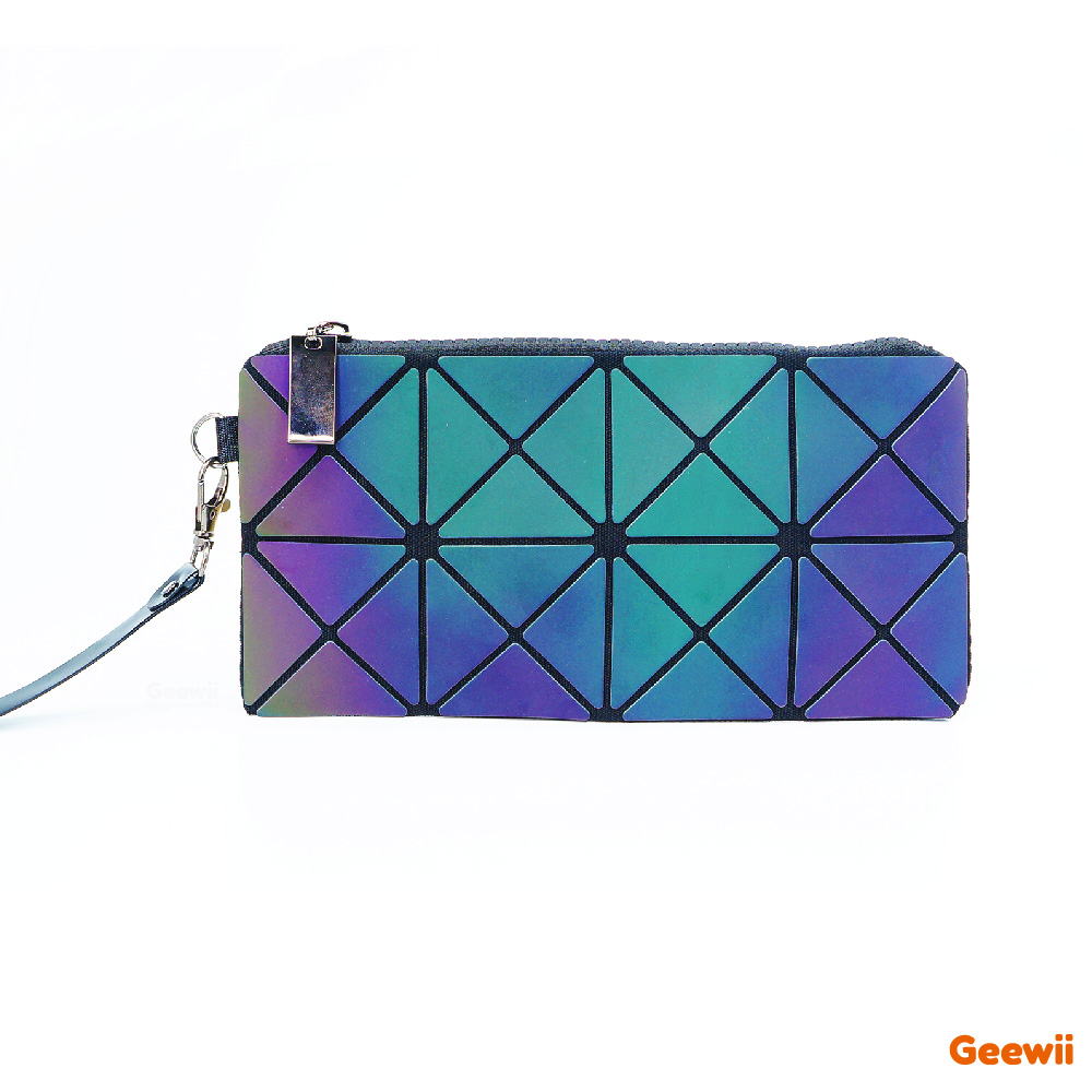 2019 Lady's Cosmetic Clutch Bag Toiletry Fashion Star Geometric Folding Make Up Bags Travel accessories Woman Makeup Mini Purse 1