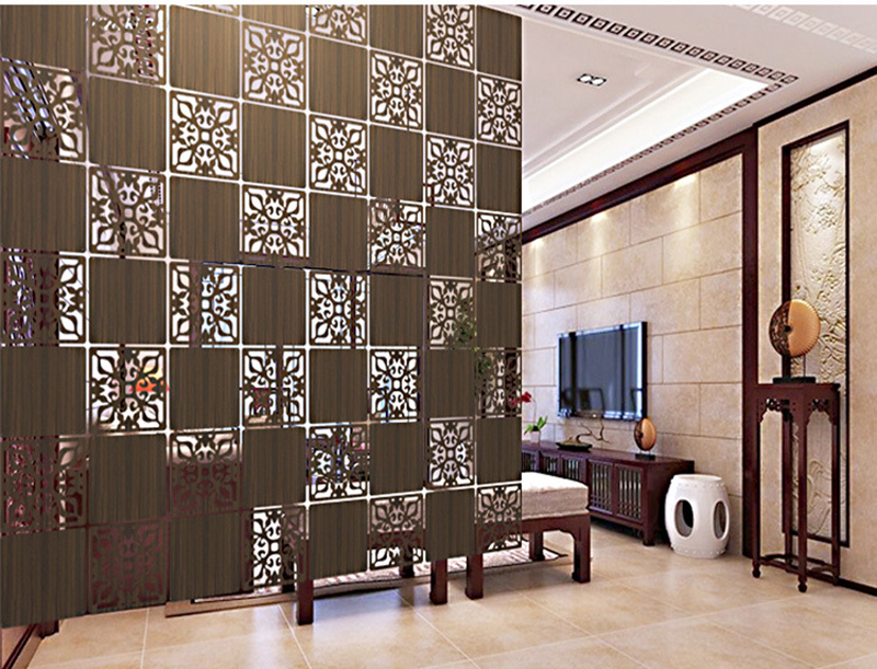 room divider biombo room partition wall room dividers partitions wall stickers cutout home screen folding screen