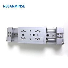 NBSANMINSE MXW 20 25mm  Air Slide Table Cylinder Double Acting compact SMC Type Pneumatic Parts