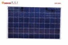 Dokio Brand Solar Panels China 250W Polycrystalline Silicon Solar Battery China 30V 1640x980x35MM Top quality Paneles Solares