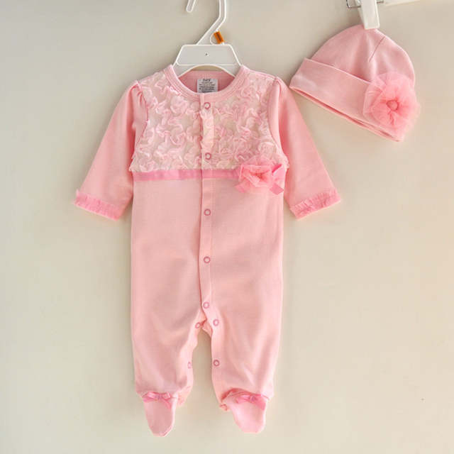 a26b8dba0 Online Shop Princess Style Newborn Baby Girl Clothes Kids Birthday ...
