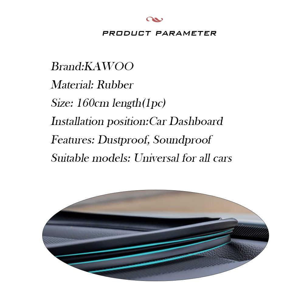 السيارات لوحة القيادة شرائط عزل لتويوتا هوندا فورد BMW هيونداي كيا العالمي الداخلية اكسسوارات السيارات ملصقات التصميم