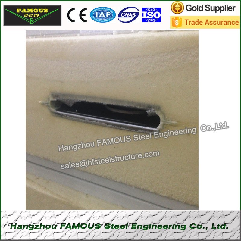 50mm PU Camlock Sandwich Panels
