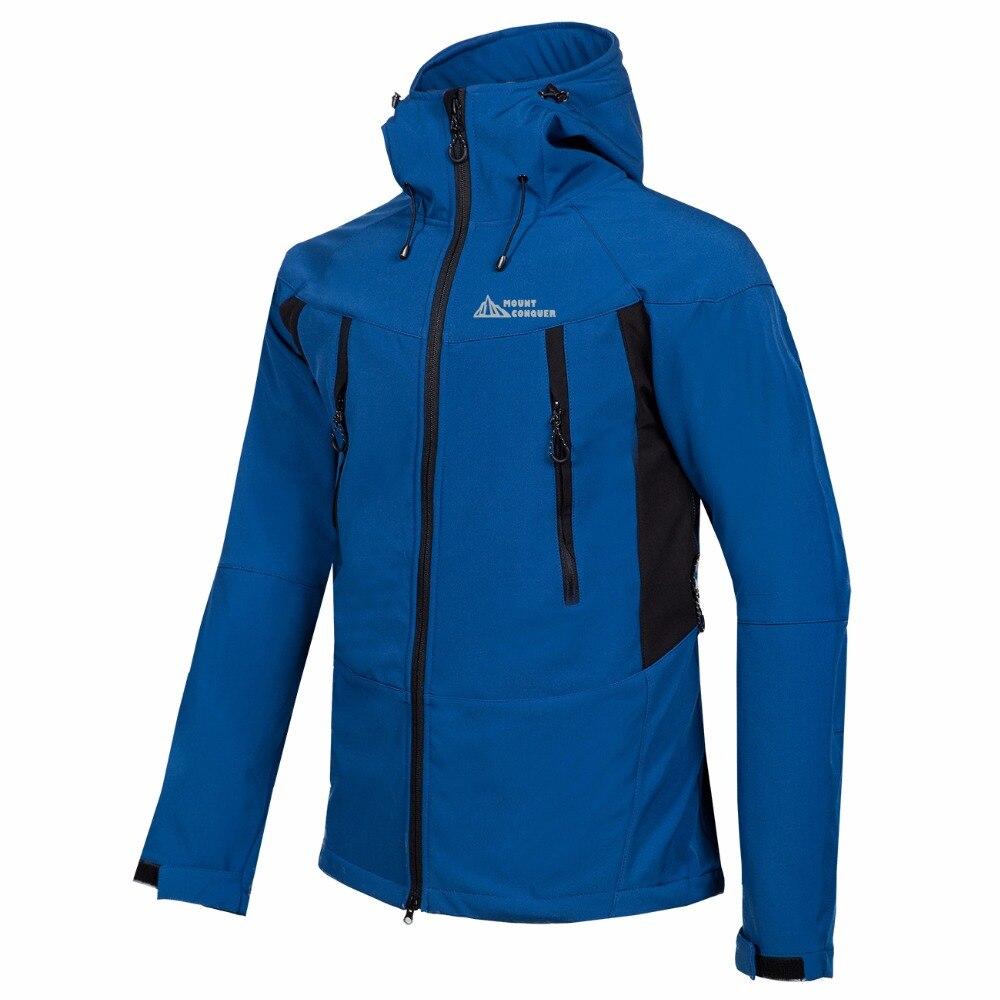 Mammouth extérieur hommes randonnée Trekking Camping ski homme coupe-vent hiver Softshell polaire vestes tenue de ville manteau