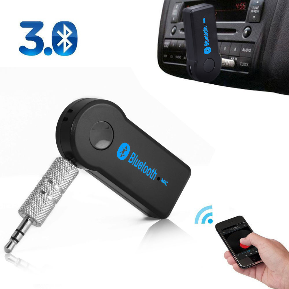 Aliexpress.com : Buy 50pcs 3.5mm Streaming Car Kit A2DP Wireless Bluetooth AUX Audio Music