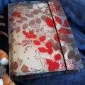 Милые  Мультяшные  прозрачные спиральные записные книжки из ПВХ с 6 отверстиями  органайзер для конфет и школьников  канцелярские товары в п...