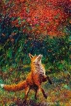 5d Diy Resin Diamond Painting Animal Fox Cross Stitch Full  Embroidery Elves Pattern Rhinestone Pasted