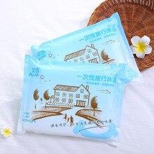 Disposable Bedding Set Hotel Linen Quilt Cover Standard Double 1.8 M 4 Pieces
