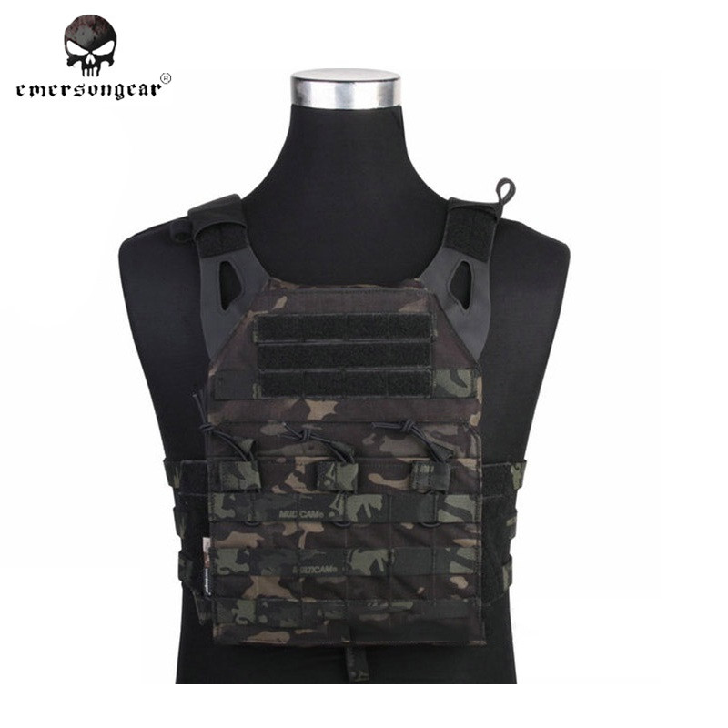 Emerson 1000D Nylon Molle JPC Tactical Hunting Vest Simplified Version Airsoft Military Combat Gear Hunting Equipment EM7344
