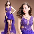 Long Evening Dress 2015 New Arrival Formal Dresses Tulle Backless Imported-Party-Dress Prom Gowns Fast Shipping