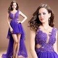 Vestido de Noite longo 2015 Novos Chegada Vestidos Formais Tulle Backless Importado-Festa-Vestido de Baile Vestidos de Transporte Rápido