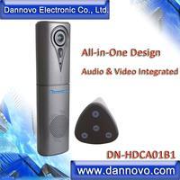 Бесплатная доставка: DANNOVO Портативный Integrated аудио видео конференций Камера, полный дуплекс микрофон громкой