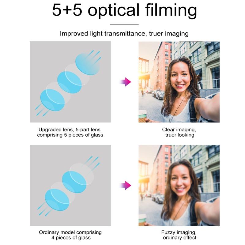 Baseus Phone Lens Wide Angle + Fisheyes lens + 15X Macro Camera For iPhone X 8 7 6S Plus Samsung S8 Huawei Zoom Lens Selfie Lens