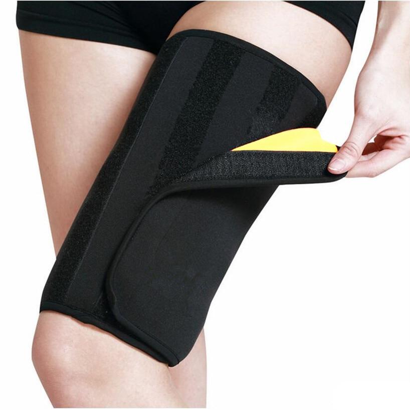 Effective Woman Leg Shaper Sauna Sweat Slimming Thigh Belt Body Shaper girdle Slim Shapewear Thermo Compress Thigh Slimming Belt