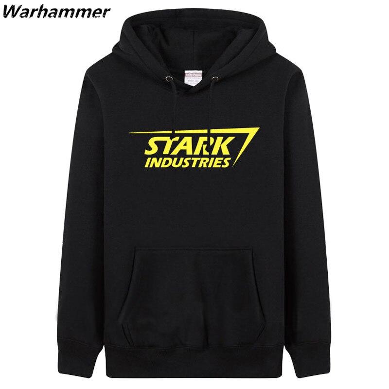 STARK INDUSTRIES Heren Hoodie Sweatshirts mode-stijl dikke fleece - Herenkleding - Foto 2