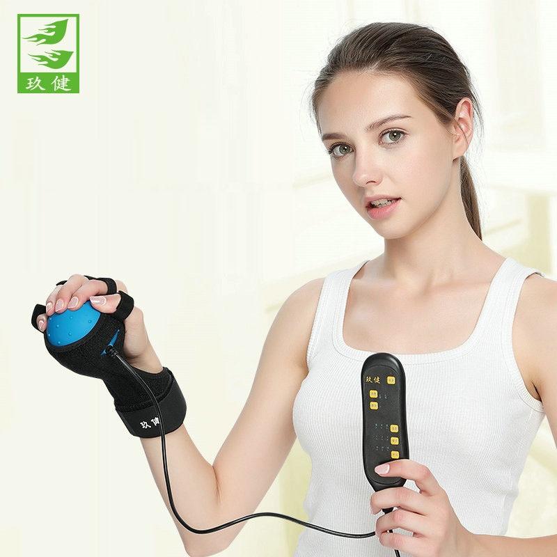 Finger Rehabilitation Training Equipment Hot Electric Massage Ball Fingerboard Exercise Correction