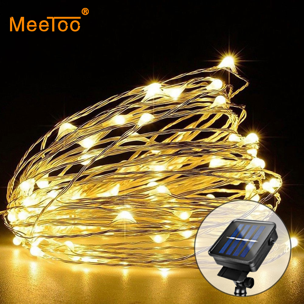 5//10//20M LED String Light Copper Wire USB Powered Home Christmas Decoration Xmas