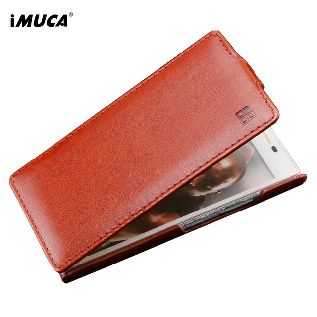 iMUCA PU Leather Case For Lenovo P70 Flip Case For Lenovo P70-A P70A Luxury Wallet Phone Bag Cover For Lenovo P70 Case Cover