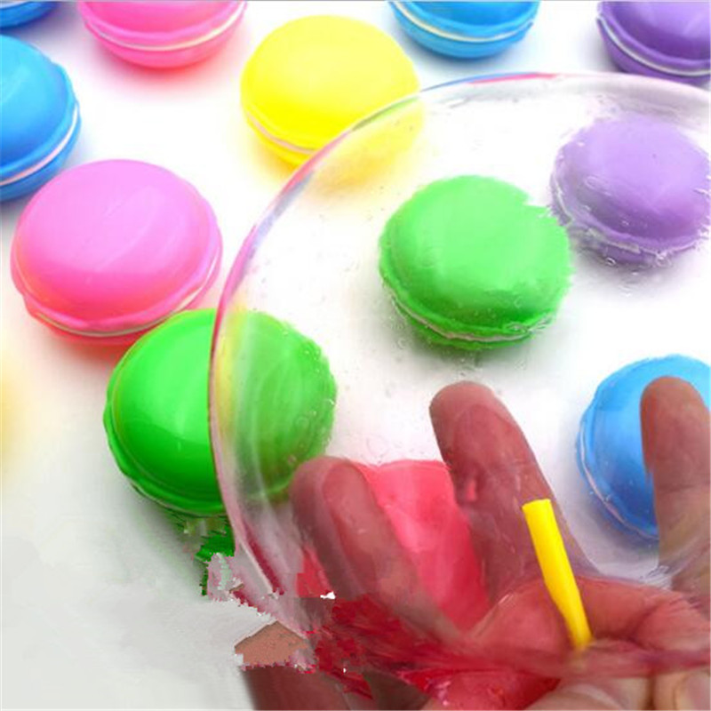 New Blowing Bubbles Crystal Slime Colourful Mud Modeling Clay Draw Slime Kids Funny Toy Magnetic Mud Intelligent Plasticine in Modeling Clay from Toys Hobbies