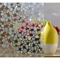 "Home Decor Window Covering Films ,No-Glue 3D Static Decorative Privacy PVC Waterproof Glass Stickers 45*100cm/17.7""*39.4"" New"