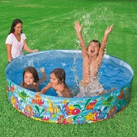 Hard Plastic Free Inflatable Baby Swimming Pool Outdoor Family Large Bath