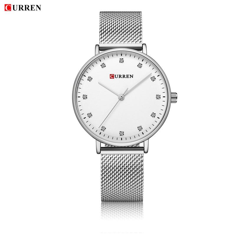 2018 LUXURY Curren Brand Quartz Gold Watches Deluxe Men Leather Watches Women Wristwatches Gifts Men Wristwatches 9023