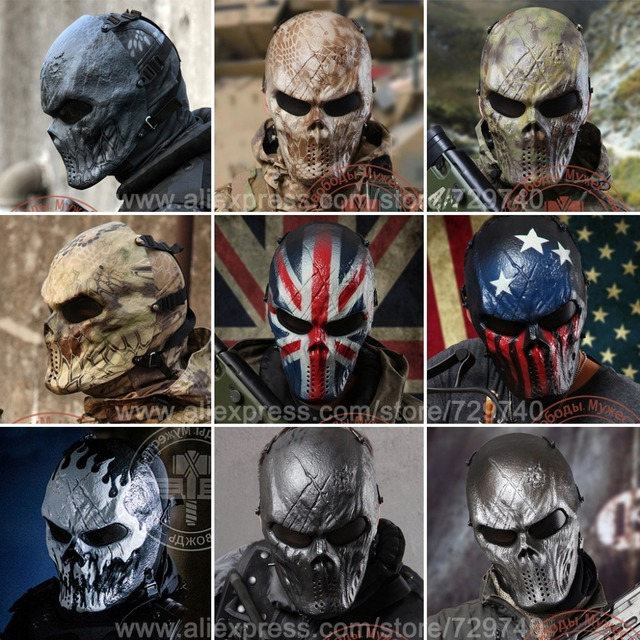 Original Chief Mask Camouflage U.S Tactical Military