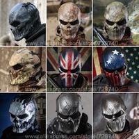 Original Chief Mask Camouflage U.S Tactical Military Paintball Balaclava Face Guard Airsoft Skull Full Face Mask CF Headgear