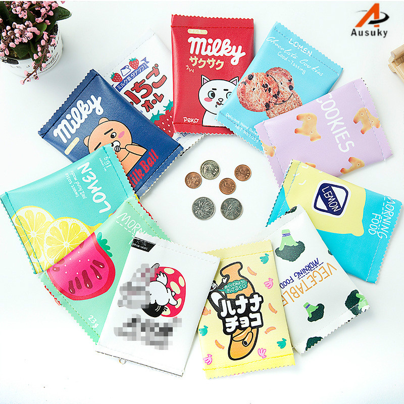 Lovely snack coin purse simulation spice cookies coin purse hand bag Mini contracted coin bag Creative wallet women 50 цена 2017