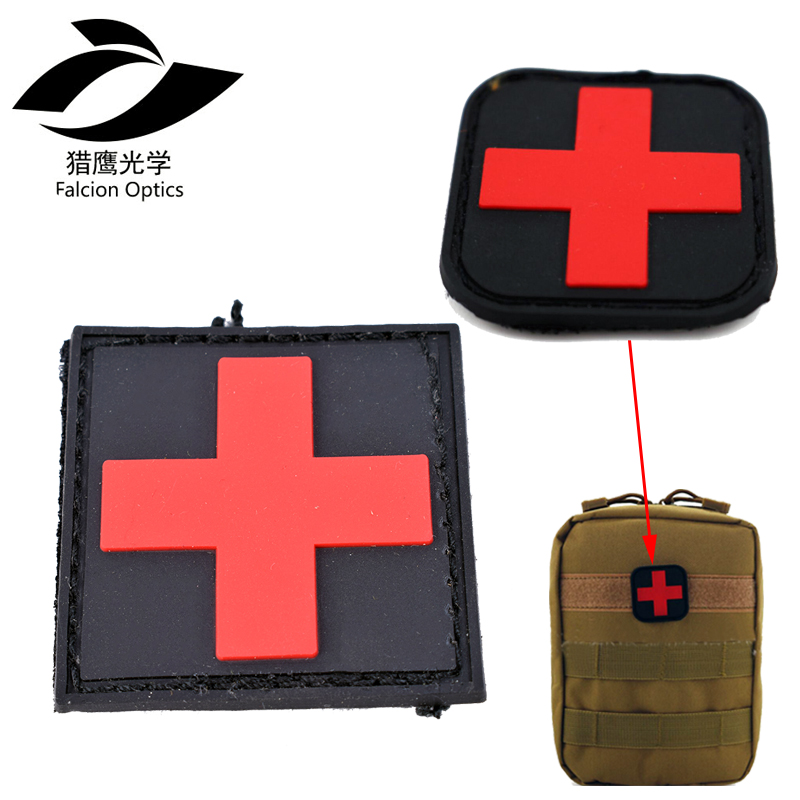 Red Cross First Aid Kit Sticker Self Adhesive Sticky Decal 911 Emergency Safety