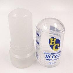 MOONBIFFY 60g Alum Stick Deodorant Stick Antiperspirant Stick Alum Crystal Deodorant Underarm Removal For Women Man