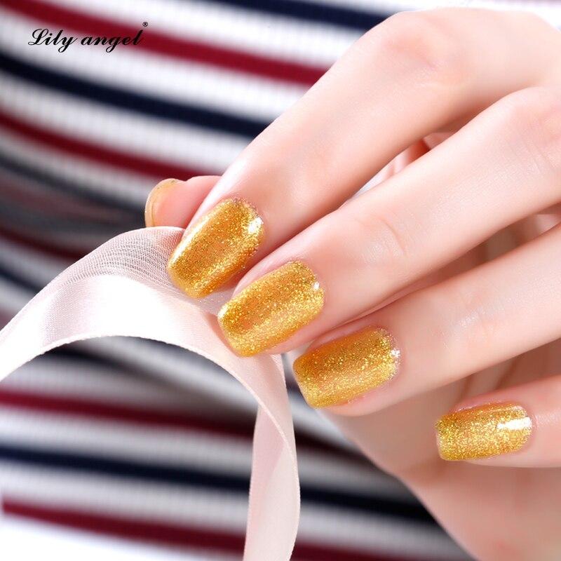 Lelie engel 15ML / pc LED UV Nail Gel Polish Nail Art Salon Gelpolish - Nagel kunst - Foto 4