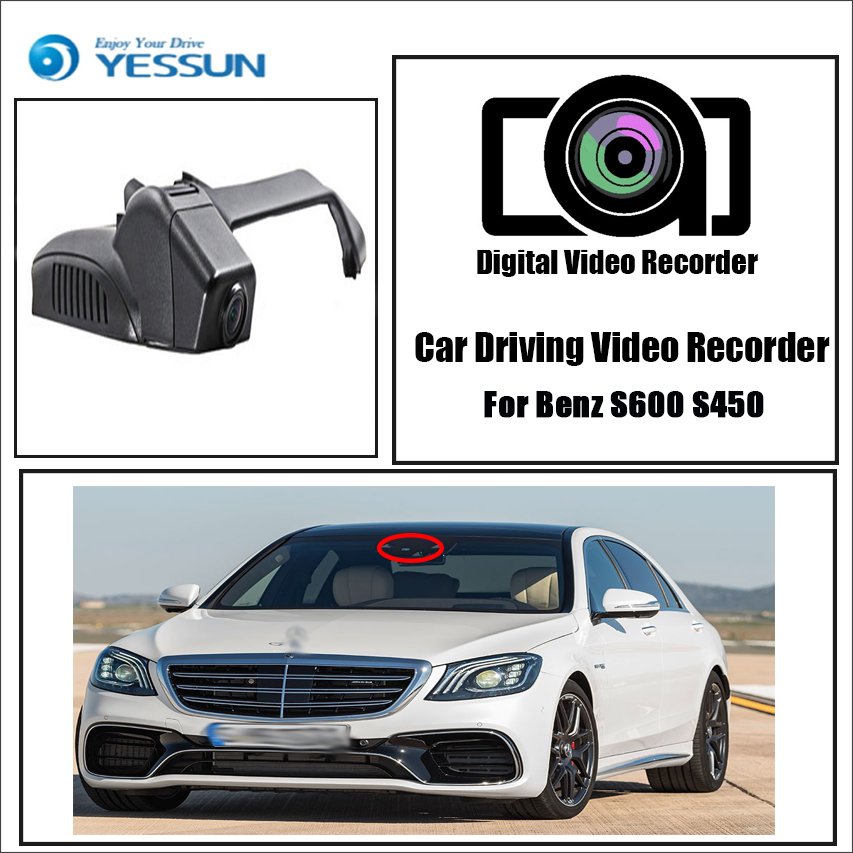 Car Electronics Dvr/dash Camera Self-Conscious Yessun For Benz S600 S450 Car Dvr Mini Wifi Camera Fhd 1080p Driving Recorder Car Dash Cam Video Recorder Original Style Convenience Goods