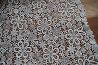 off white Lace Fabric,crochet Lace Fabric with flowers, delicate lace fabric african lace fabric