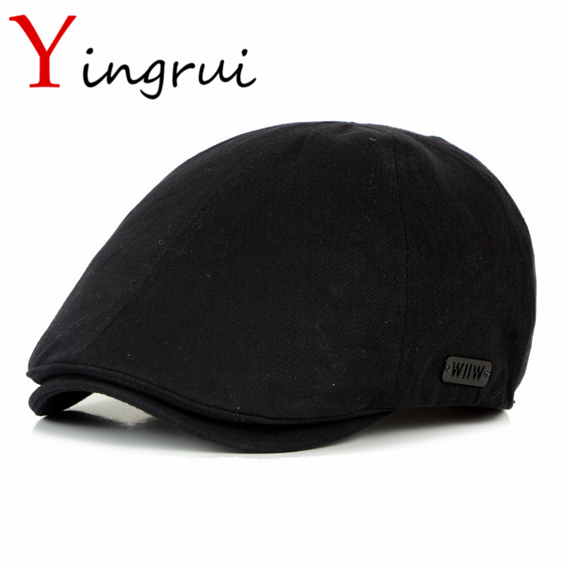 2017 Spring Brand Mens Newsboy Cap Sunscreen Golf Flat Cabbie Hats Outdoor Sports Baseball Duckbill Ivy Cap Unisex Gatsby Hat