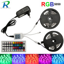 RGB LED Streifen Wasserdicht Band RGB LED Licht SMD5050 5 mt 10 mt LED Flexible Streifen DC12V, RGB LED Band Volle Sets LED Kit